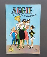Aggie et le cousin d'Angleterre n°19. SPE EO 1966. PI 1,20 F