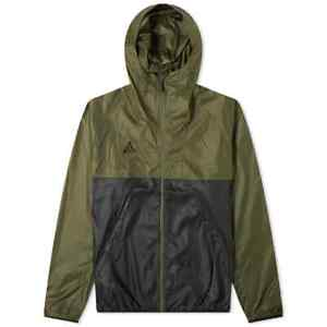 Nike NikeLab ACG Lightweight Jacket Windbreaker Olive Green Black CK7238-325 Men