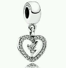 Authentic Pandora 925 Sterling Silver Charm Disney Love Tinkerbell 791565CZ