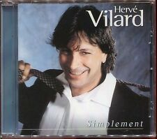 HERVE VILARD - SIMPLEMENT - CD ALBUM NEUF ET SOUS CELLO