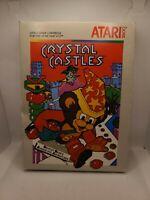 Crystal Castles (for Atari 2600) Complete in Original Box No Manual