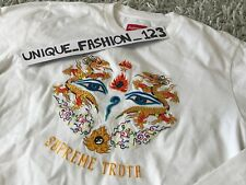 SUPREME X MICHAEL JACKSON MJ TRUTH DANGEROUS LONG SLEEVE TEE M WHITE SS17 LS
