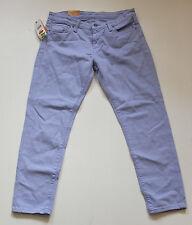 Ralph Lauren Denim & Supply Crop Skinny Jeans W 30 NEU Etikett stretch purple