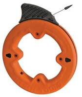 KLEIN TOOLS 56005 Marked Fish Tape,1/4 In x 25 ft,Steel