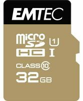 Emtec Memory SD Card 32GB Class 10 85MB/s SDHC Camera Laptop Mobile Camcoders AP