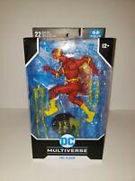 "DC Multiverse The Flash Rebirth Modern Comic 7"" Action Figure McFarlane Toys"