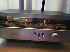 More details for vintage pioner tx-608l hifi stereo tuner silver (100% working)