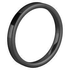 Melano vorsteckring beisteck anello Eva taglia 54 Nero Ceramica M 01r5000