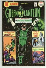 GREEN LANTERN DC SPECIAL 20 6.0 NICE GLOSSY RUSTED STAPLES  CBC 1976