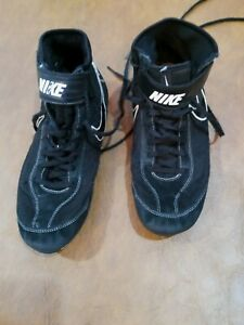 Nike Wrestling Shoes Size 10.5 Black