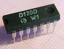 10x d120d DUAL 4-INPUT NAND GATE, HFO
