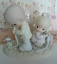 Precious Moments There Shall Be Showers Of Blessings 1989 522090 Enesco In Box