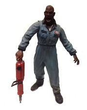 """Romero Land Of The Dead BIG DADDY 6"""" zombie horror figure toy with accessory"""