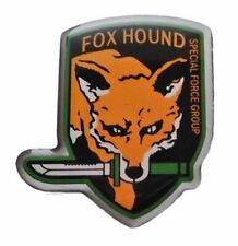 Metal Gear Solid Series Orange Fox Hound Special Force Group Metal Pin