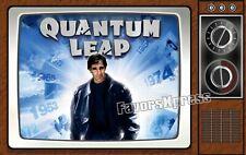"Retro Quantum Leap Tv Show Fridge Magnet Thin Flexible 4 X 2.5"""