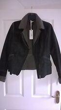 GAS MILLYE  Eco fur coat Size 44 Womans Designer Jacket , RRP £200 BARGAIN