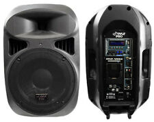 1 Pyle New PPHP1299AI 12'' 1000 Watt Loud Powered Speaker with USB iPod Dock