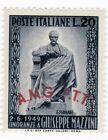 79- TRIESTE ZONA A 1949** - Giuseppe Mazzini - n.5,40