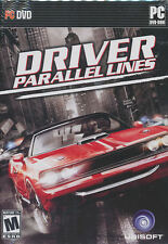 DRIVER PARALLEL LINES Racing Sim PC Game NEW XP/Vista - US Version!