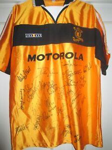 Livingston 2001-2002 Squad Signed Home Football Shirt with COA /48204
