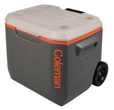Coleman 50QT Cooler Xtreme Wheeled Tricolour Cool Box Picnic Camping Caravan