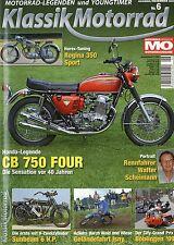 Klassik Motorrad 6/09 2009 DKW SS 350 Honda CB 750 A Horex Regina 350 Sport Ossa