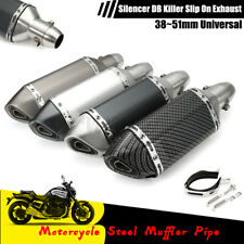 Universal Motorcycle Exhaust Muffler Pipe DB Killer Slip On Exhaust 38~51mm US