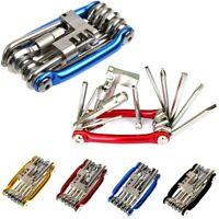 11 Multi Tool Bicycle Bike Allen Hex Keys Screwdriver Chain Link Tool for MTB