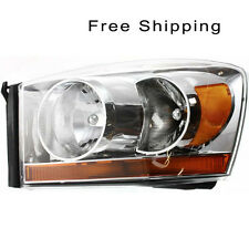 Halogen Head Lamp Assembly Driver Side Fits Dodge Ram 1500 Ram 2500 CH2518114