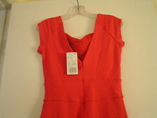 Ladies MNG Red Career Formal Casual Cocktail Dress size Women's  small