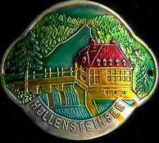Hollensteinsee hiking medallion stocknagel shield mount badge G1247