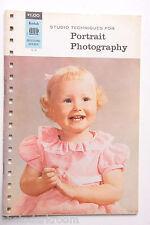 Kodak Studio Portrait Photography Data Booklet O-4 1965 - English - USED B60