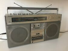 Boombox Sharp GF-9595 / FULLY SERVICED / NEW BELTS / HIGH END RADIO CASSETTE