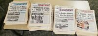 155 National Speed Sport News - Auto Racing Newspapers from 1992-1995