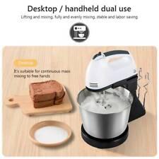 7 Speed  Electric Hand Mixer Steel Bowl Egg Cake Dough Mixer Stand Blender Tool