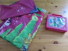 2 tlg Kinderbettwäsche, Filly Pferde, Puzzle, pink, Mädchen Einhorn, Bettwäsche