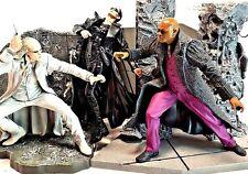 "McFarlane Toys Matrix Lot Trinity Morpheus & Twin Playset 7"" Action Figures EUC"
