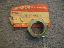 SUZUKI TS/TM/SV/SP/RM/RV/PE/GT/GS/DS/DR/A100 20MM CLUTCH HUB NUT NOS!