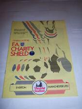 Everton Charity Shield Home Teams C-E Football Programmes