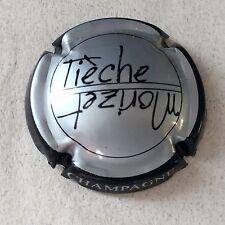 Capsule de Champagne TIECHE-MORIZET (18. argent contour noir)