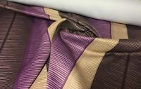 LUXURIOUS PURPLE DIM OUT CURTAIN/THEATRE BY PANAZ FABRIC 10.5 METRES