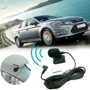 Car Microphone External Bluetooth Compatible Microphone DVD Radio For Automobile