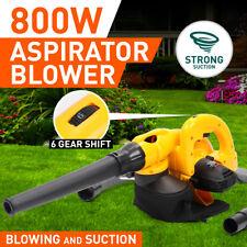 800W handheld Power Blower  Electric Portable Grass Garden  Leaf Blower Vacuum