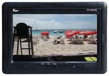"Tview T711HRIR 7"" TFT LCD Headrest Monitor With Shroud And Stand"