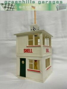 Greenhills Scalextric Vintage Control Tower Building A208 - Used - ACC3122