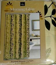 """PRINTED FABRIC SHOWER CURTAIN   72""""X 72"""" BY HOME WEAR NEW IN BAG"""