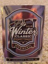 #432 LOGO FOIL WINTER CLASSIC Jan 1 SP 2016-17 Panini 16-17 NHL Hockey Sticker