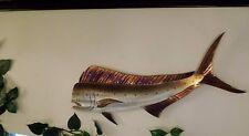 Handmade Dorado Mahi Mahi,Dolphinfish Dolphin fish,Ocean,fishing,Metal Art Wall,