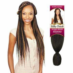 Model Model Silky Touch Jumbo Braid 100% Premium Soft Kanekalon Extension Hair