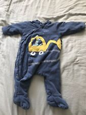 Baby Boys Mothercare Pram Suit 12-18 Months